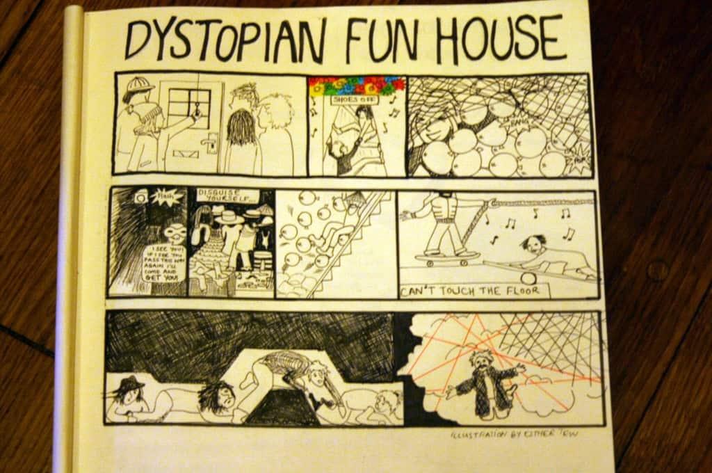 funhouse comic