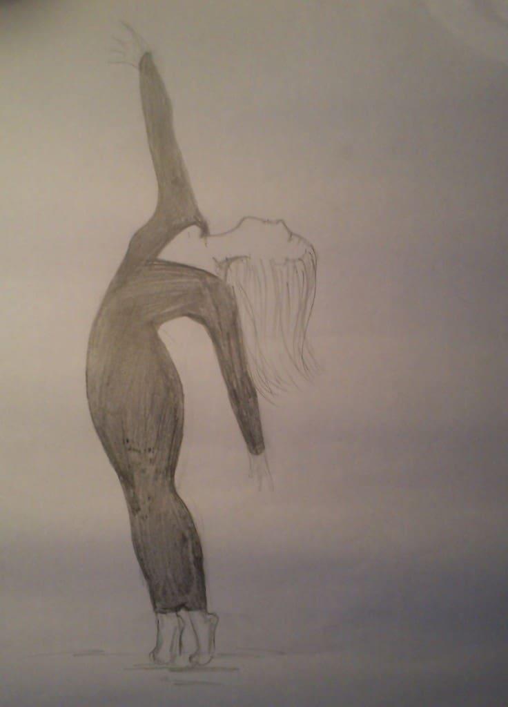 dancer1pencil