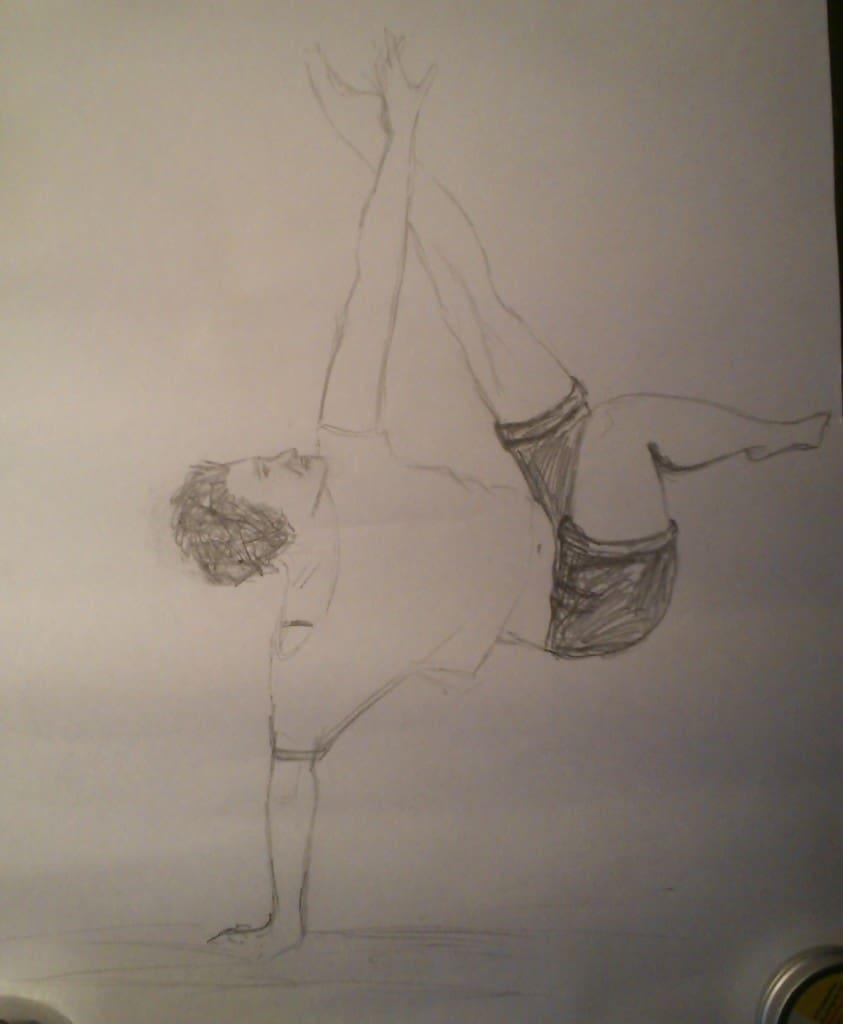 dancer3pencil