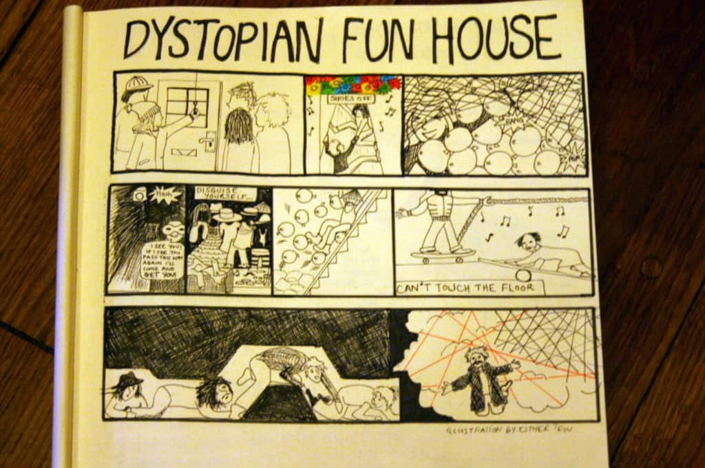 funhouse comic
